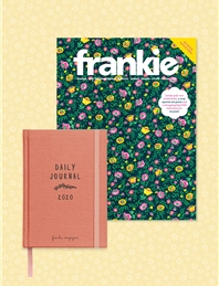 frankie magazine subscription + 2020 diary