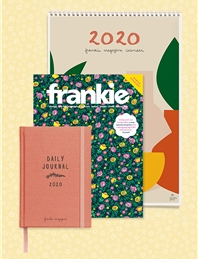 frankie magazine subscription + 2020 diary & calendar