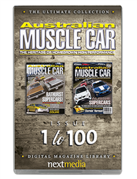 The Ultimate Australian Muscle Car USB Collection - Issue 1 to 100