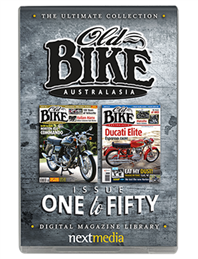 The Ultimate Old Bike Australasia USB Collection - Issue 1 to 50