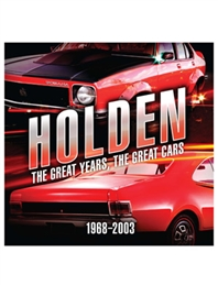 Holden: The Great Years, Great Cars