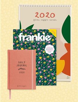 frankie magazine subscription + 2020 diary & calendar