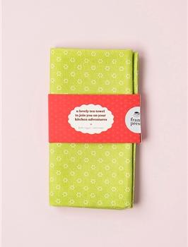 frankie tea towel - green
